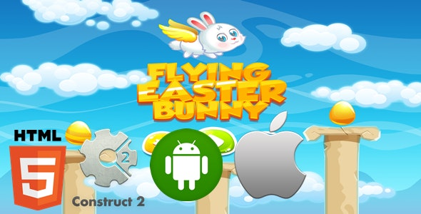Flying Easter Bunny - CodeCanyon Item for Sale