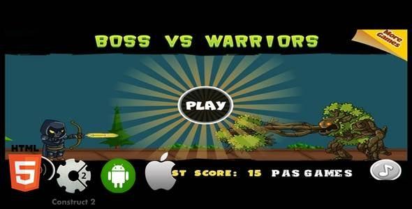 Boss VS Warriors - CodeCanyon Item for Sale