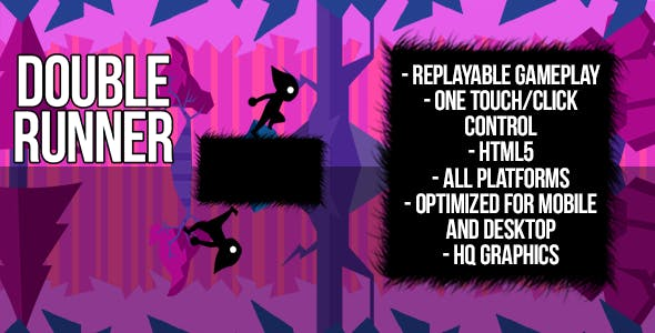 Double Runner - HTML5 Game