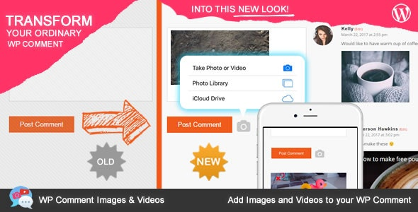 WP Comment Images and Videos - CodeCanyon Item for Sale