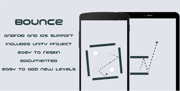 Bounce - Mobile Game, Unity Project Included!