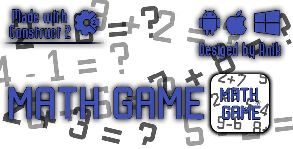 Math Game - HTML5 Game (CAPX)