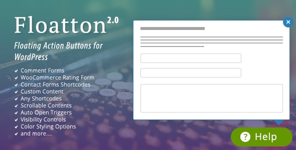 Floatton | WordPress Floating Action Button with Pop-up