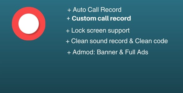 Call Recorder - Clear Sound - Clean Code