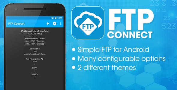 Make A Ftp App With Mobile App Templates from CodeCanyon