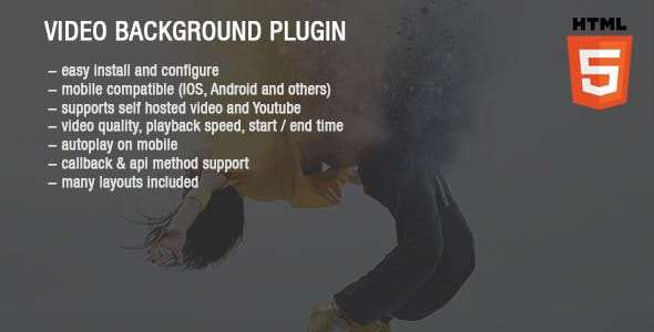 Video Background Plugin