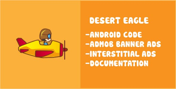 Desert Eagle Buildbox Game Template for Android And IOS