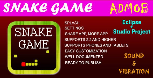 Snake Game with AdMob