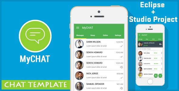 MyCHAT - Chat Messenger Template - AdMob by vishalbodkhe