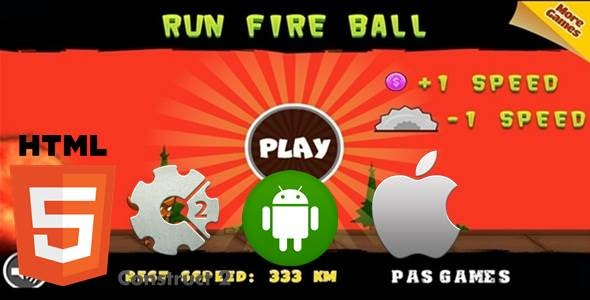 Run FireBall - CodeCanyon Item for Sale