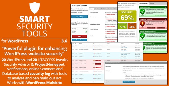 Smart Security Tools - CodeCanyon Item for Sale