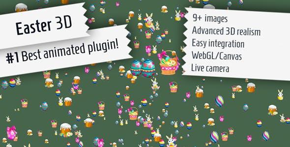 Easter 3D - Plugin for WordPress