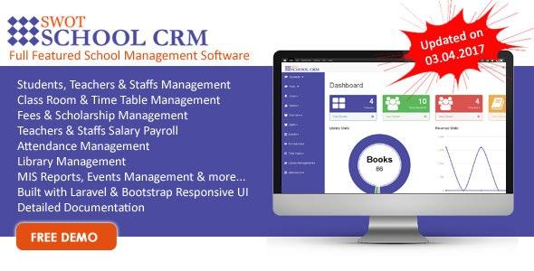 SWOT SCHOOL- School Management Software - CodeCanyon Item for Sale