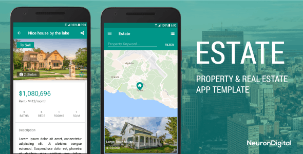 Estate - A Property Real Estate App Template