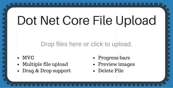 Dotnet core file upload