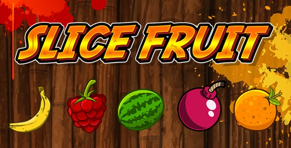 Slice Fruit - HTML5 Game (Capx) - CodeCanyon Item for Sale