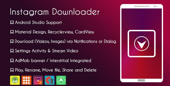 Instagram Downloader - AdMob & GDPR