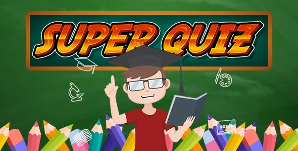 Super Quiz XML - HTML5 Game (Capx)