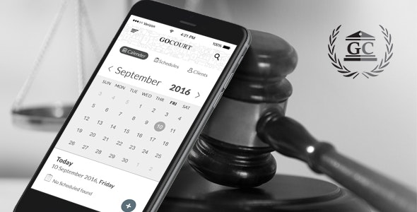 Find a Lawyer Android Mobile App for Legal Advice - GOCOURT - CodeCanyon Item for Sale