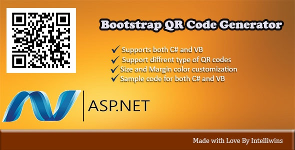 Bootstrap Ultimate QR Code Generator - CodeCanyon Item for Sale