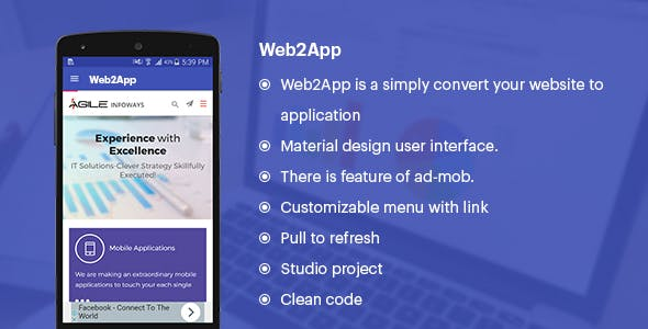 WebToApp (Convert your Website to Application)