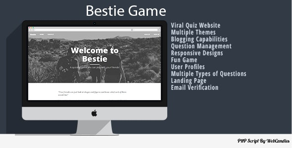 Bestie - A Friendly Viral Quiz Game - CodeCanyon Item for Sale