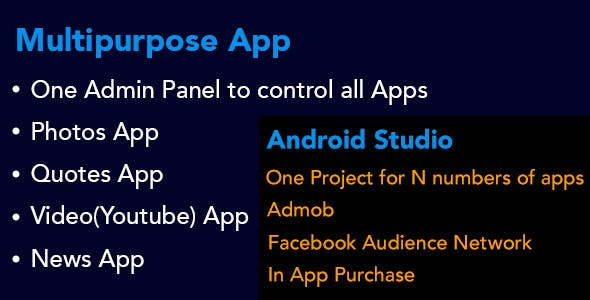 Multipurpose Android by Bison Code