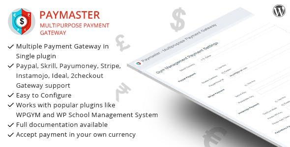 Paymaster - Multipurpose Payment Gateway