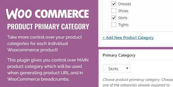 Woocommerce Product Primary Category Plugin - CodeCanyon Item for Sale