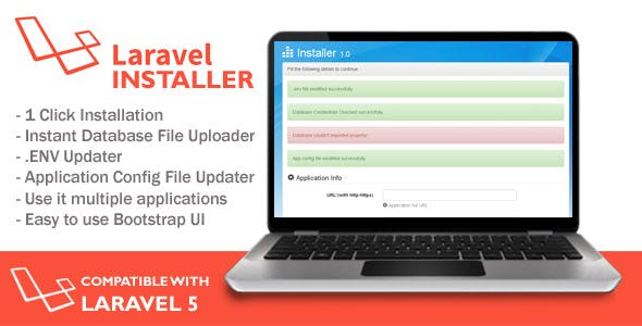 Installer for Laravel Application