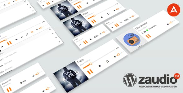 zAudio for WordPress - HTML5 JavaScript Audio Player