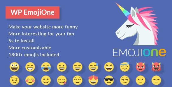 EmojiOne for WordPress - CodeCanyon Item for Sale