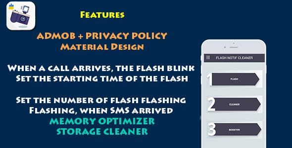 Flash Notif + Cleaner + Booster