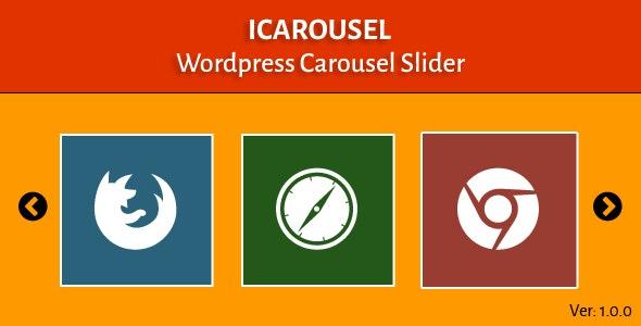 ICarousel - Wordpress Carousel Slider - CodeCanyon Item for Sale