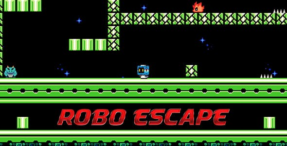 Robo Escape - Speed Run HTML5 Game