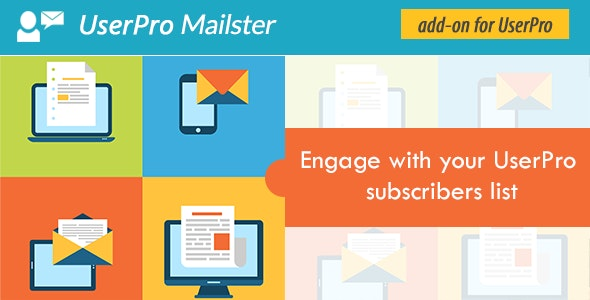 Mailster Addon for UserPro - CodeCanyon Item for Sale