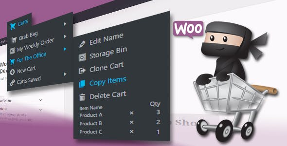 WooCommerce Multiple Carts Per User