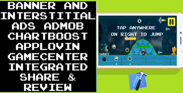 Space Walker + IAP + Game Service