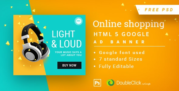 Online Shopping - HTML5 Animated Banner 14 - CodeCanyon Item for Sale