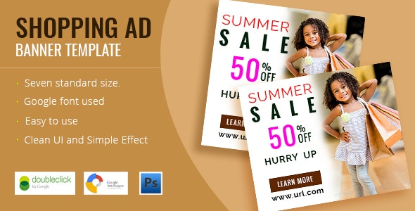 Shopping - HTML5 Animated Banner 02 - CodeCanyon Item for Sale