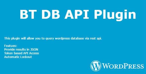 BT DB API