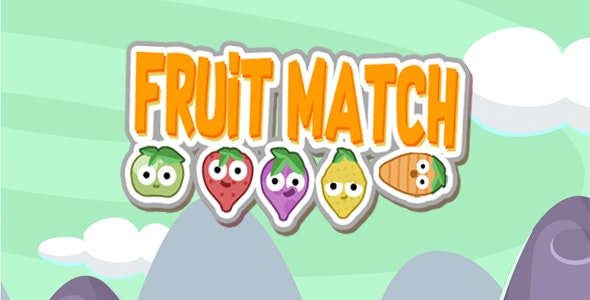 Fruit Match - HTML5 Game - CodeCanyon Item for Sale