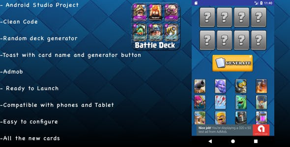 Random Battle Deck Clash Royale