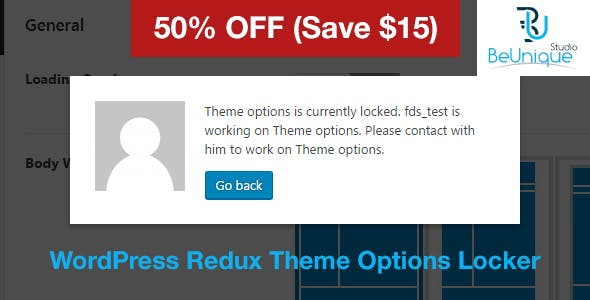 WP Theme Options Locker