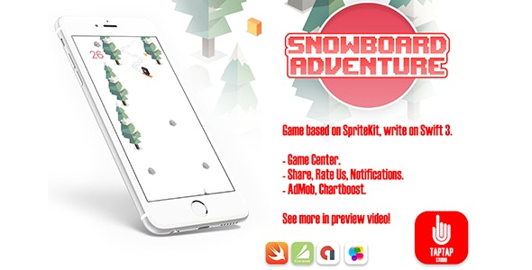 Snowboard Adventure - CodeCanyon Item for Sale