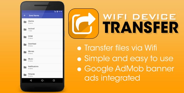 Wifi Device Transfer - Android