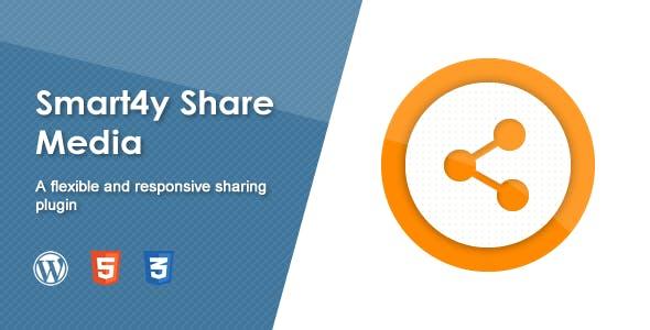 Smart4y Share Media - Responsive Wordpress Plugin