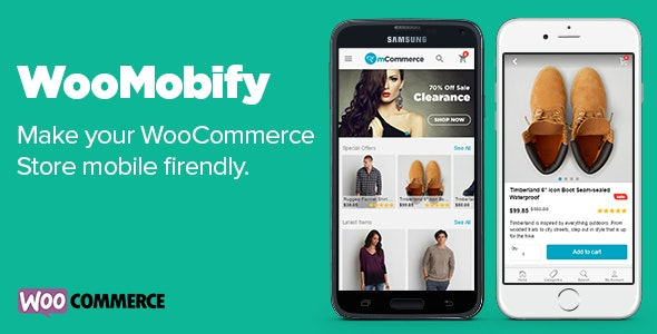 WooMobify - WooCommerce Mobile Theme - CodeCanyon Item for Sale