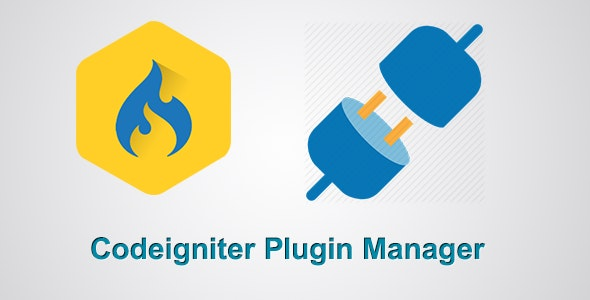 Codeigniter Plugin Manager - CodeCanyon Item for Sale