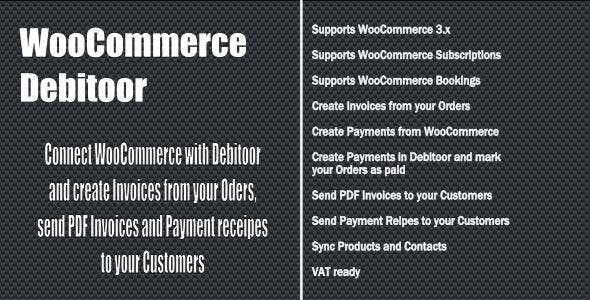 WooCommerce Debitoor Connect